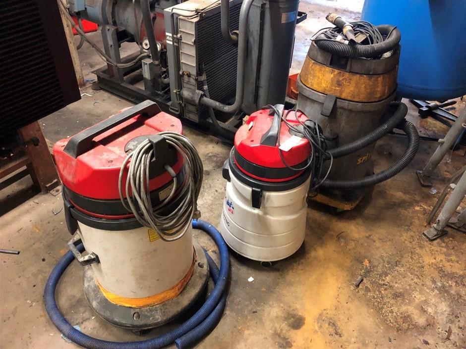 Qty 3 Vacuum Cleaners