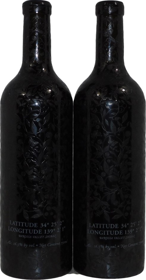 Chris Ringland R Wines Longitude Shiraz NV (2x 750mL), Barossa.