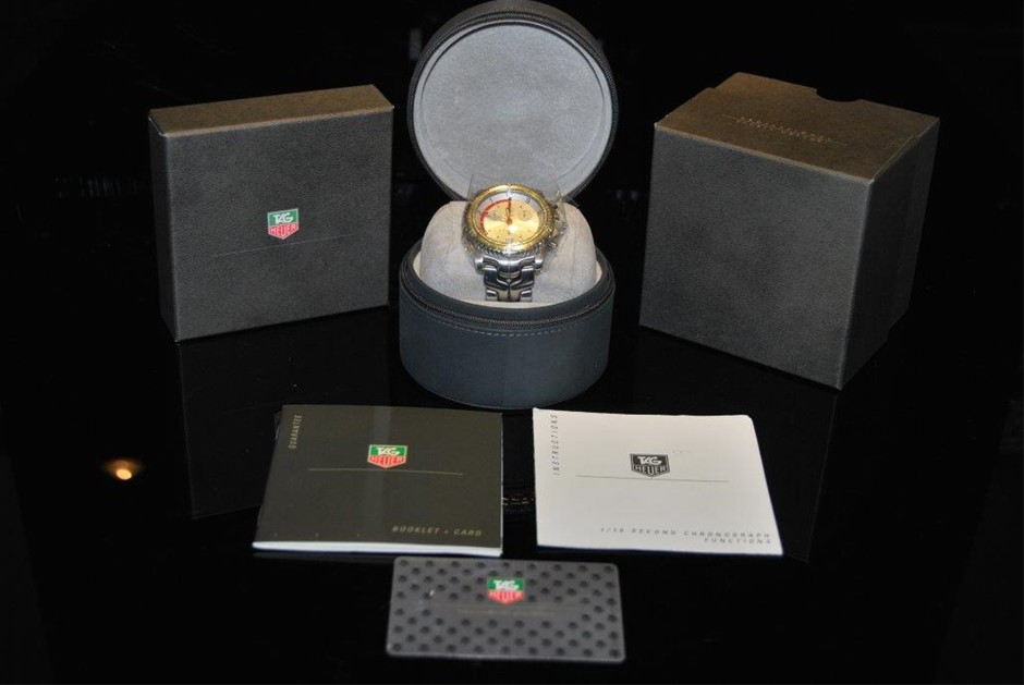 """Limited Edition Tag Heuer ORACLE RACING 1/10th Chronograph """"Limited Ed"""""""