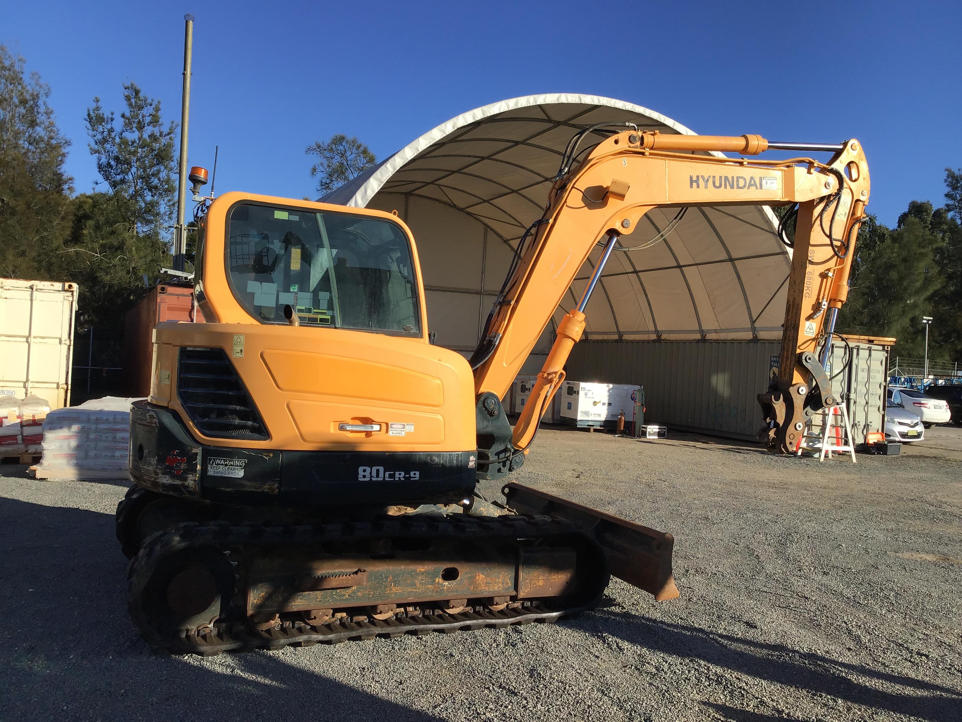 2014 Hyundai ROBEX80CR-9 Excavator