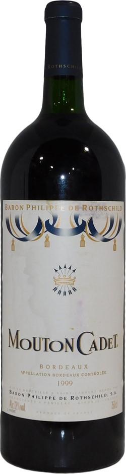 Baron Philippe de Rothschild Mouton Cadet Bordeaux 1999 (1x 1.5L), FR. Cork