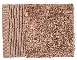6 x BAMBURY Avira Towel Range Face Washer Pack (6), Toffee. 100% Cotton. 30