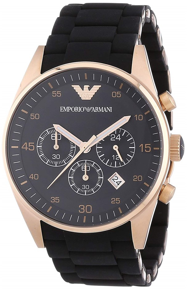 Designed with style, new Emporio Armani men's watch.