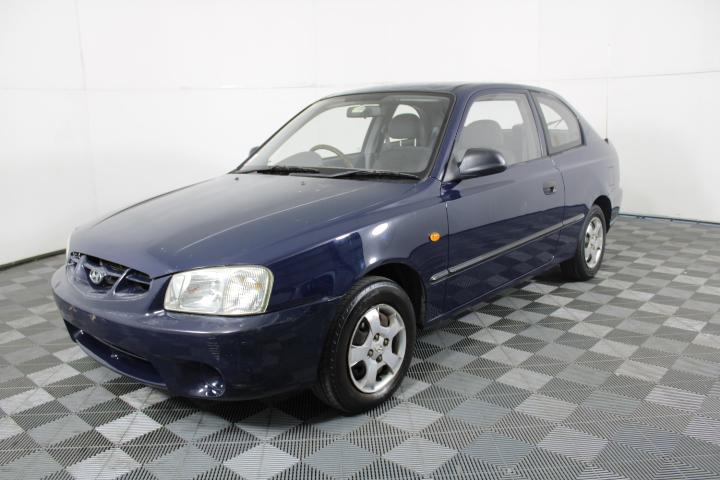 2000 Hyundai Accent GL LS Automatic Hatchback