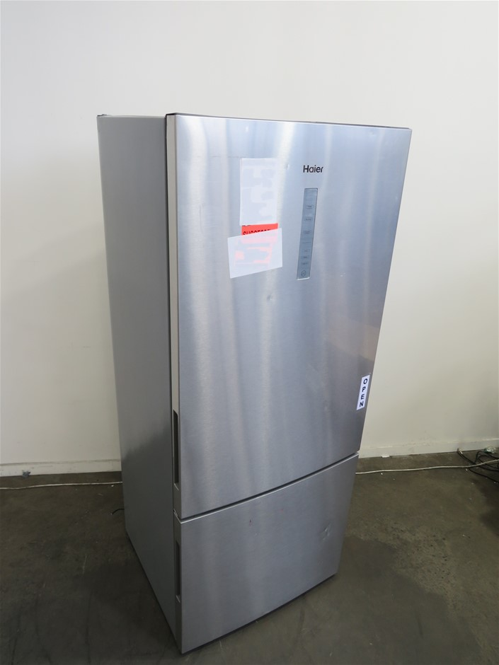 Haier 450L Bottom Mount Refrigerator (Silver) (HBM450SA1)