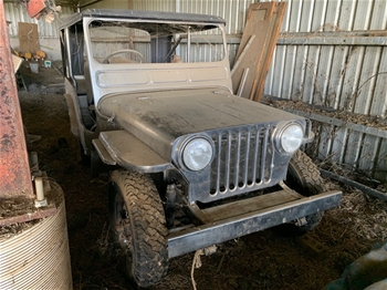 Approx 1942-1945 Jeep