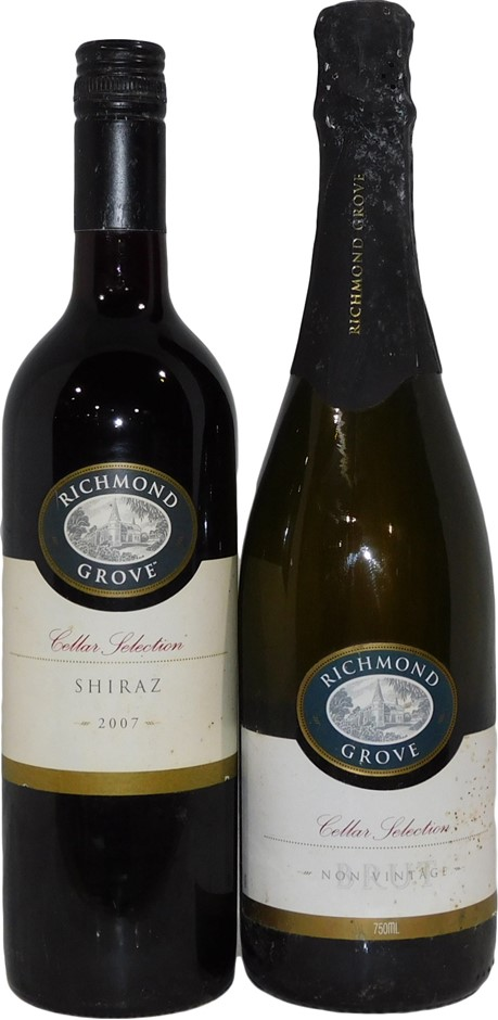 Richmond Grove Cellar Selection Mixed Pack (2x 750mL),SA. Mixed Closures