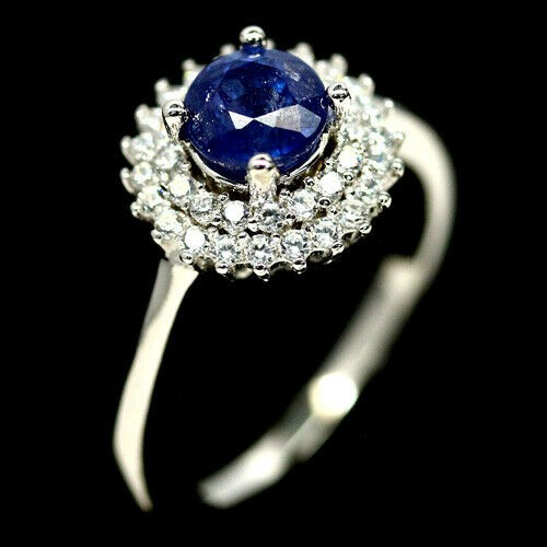 Gorgeous Genuine Sapphire Ring.