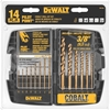 DeWALT 14pc Cobalt Drill Bit Set Pilot Point. Buyers Note - Discount Freigh