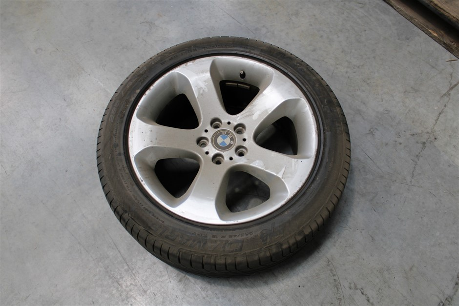 Set of 4 BMW Rims & Tyres