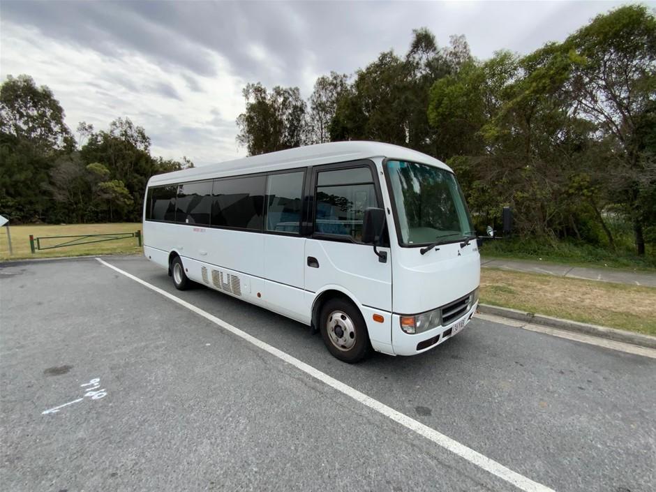 2016 Mitsubishi Rosa Bus Automatic 25 Seats 22,987 km's (Service History)