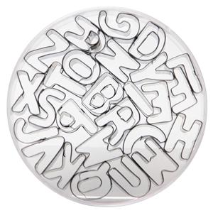1 set Alphabet Cutters + 1 set Number Cu