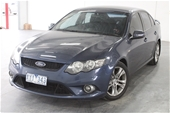 Unreserved 2008 Ford Falcon XR6 FG Automatic Sedan