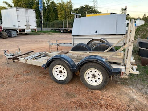 2017 Jimboomba Machinery Trailer ATM 2800