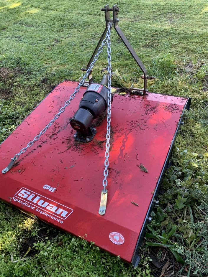 Slasher attachment, Silvan Ag Implements