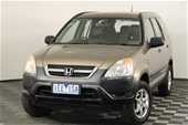 Unreserved 2003 Honda CR-V RD Automatic Wagon