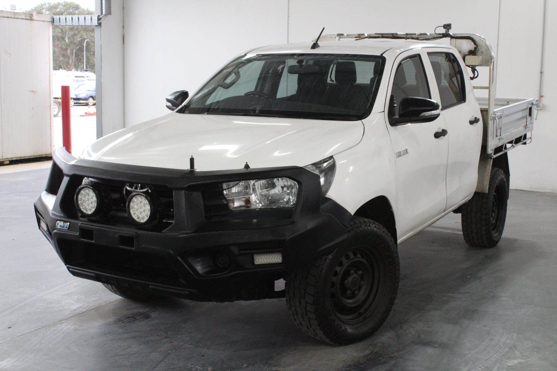 2015 Toyota Hilux Workmate (4x4) GUN125R Turbo Diesel Automatic Dual Cab