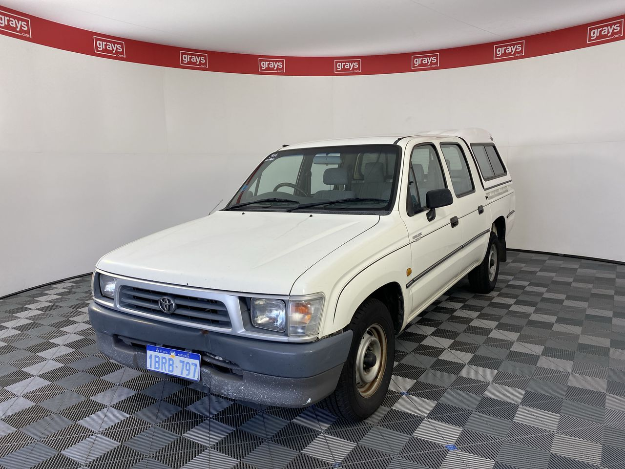 2001 Toyota Hilux Manual Dual Cab