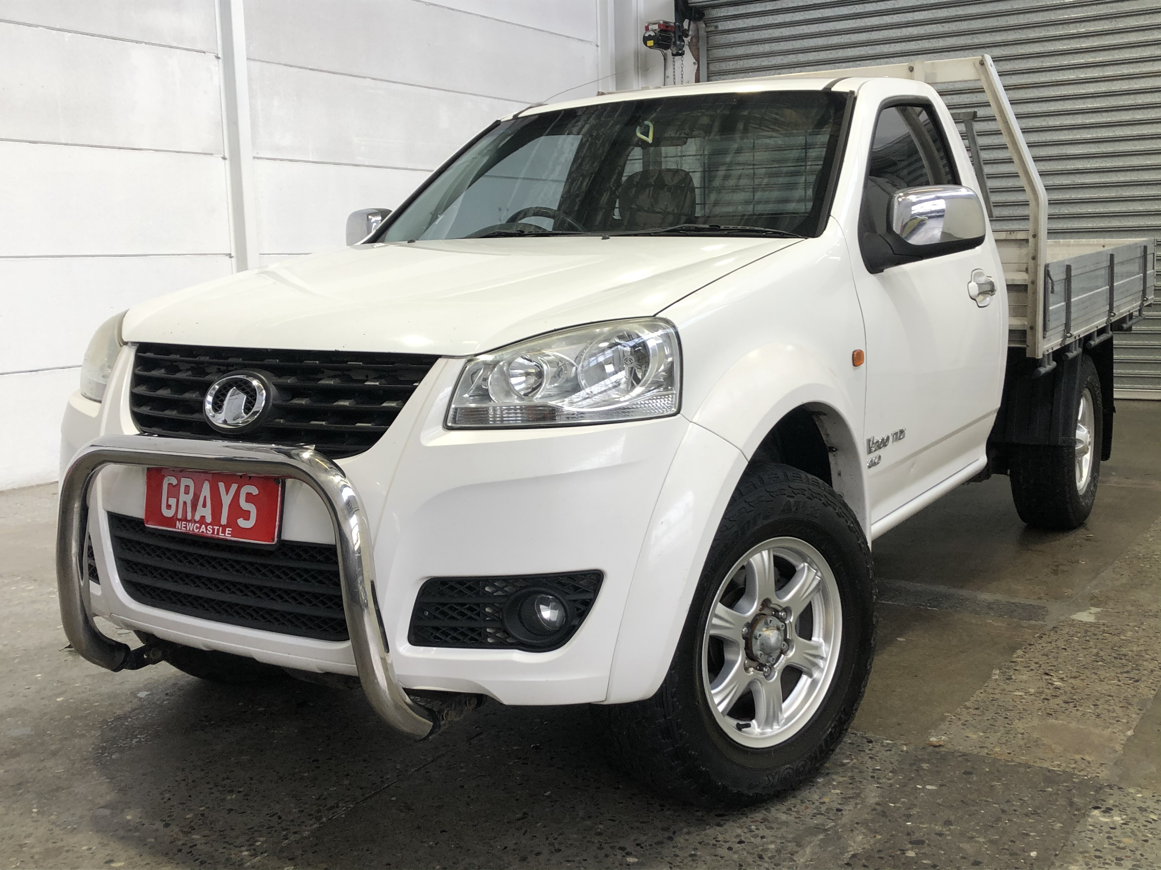 Great Wall V200 4X4 Turbo Diesel Manual Cab Chassis