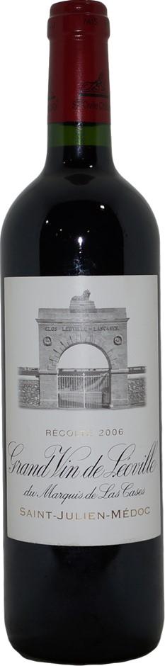 Chateau Leoville Las Cases Grand Vin Saint-Julien 2006 (1x 750mL) Bordeaux