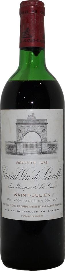 Chateau Leoville Las Cases Grand Vin Saint-Julien 1978 (1x 750mL) Bordeaux