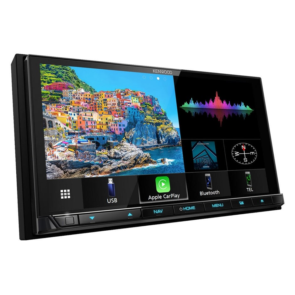 """KENWOOD DNX9190DABS 6.8"""" Double Din Media Receiver"""