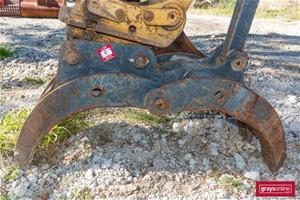 Pro 20ton Excavator Grab