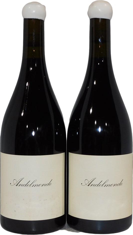 The Standish Wine Company Andelmonde Shiraz 2010 (2x 750mL), Barossa. Cork