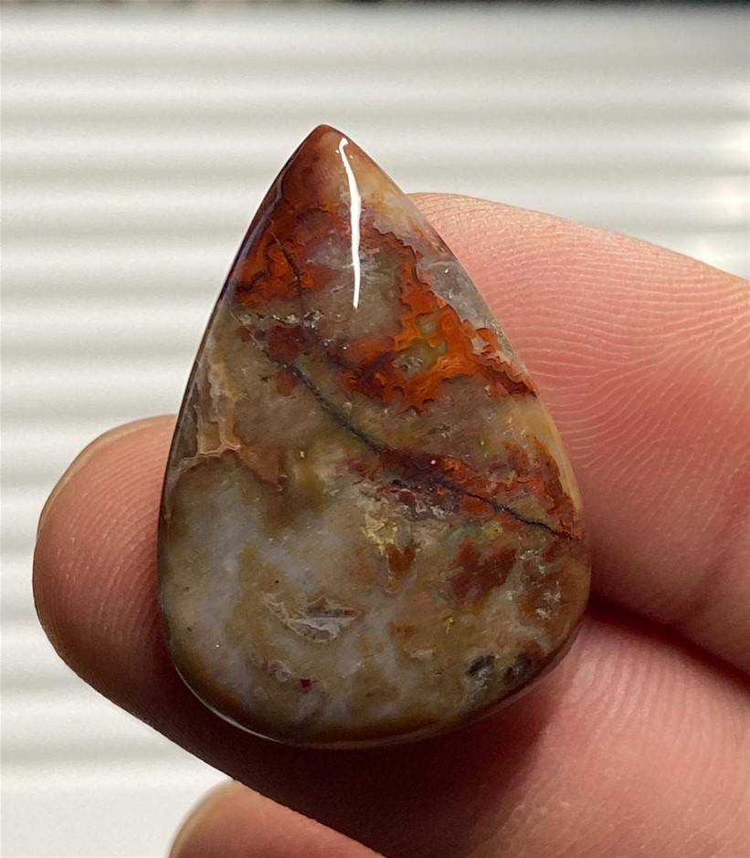 25.20 Carats Stunning Crazy Lace Agate