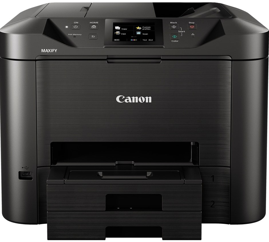 CANON MB5460 Maxify Inkjet Printer. N.B. Has been used. Damaged. Missing re