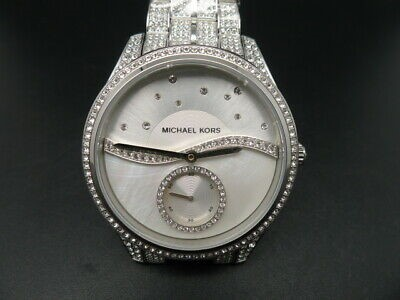 Ladies new Michael Kors Lauryn beautiful watch with amazing 'wave' dial.