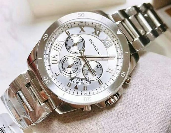 New Michael Kors 'Brecken' mens chronograph luxury watch,
