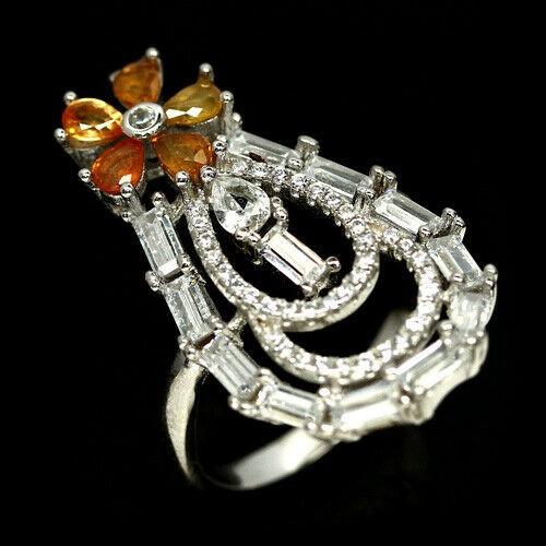 Unique Genuine Sapphire Ring.