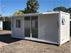 New 20` Studio Container Home with Ensuite, can be Converted to Granny Flat