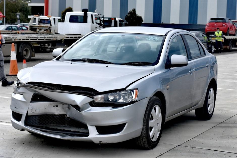 2009 Mitsubishi Lancer ES CJ CVT Sedan