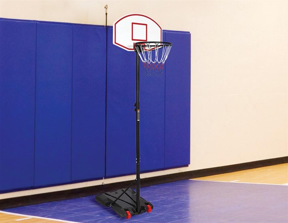Basketball Ring Hoop Height Adjustable Portable Set