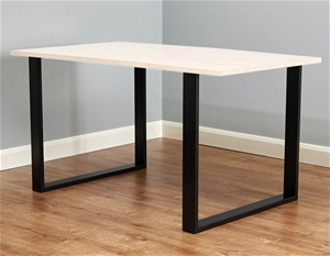 Square Shaped Table Bench Desk Legs Retr