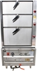 <Strong>B + S TRIPLE DECK K+ OVEN STEAMER, QUALITY COMMERCIAL KITCHEN EQUIP