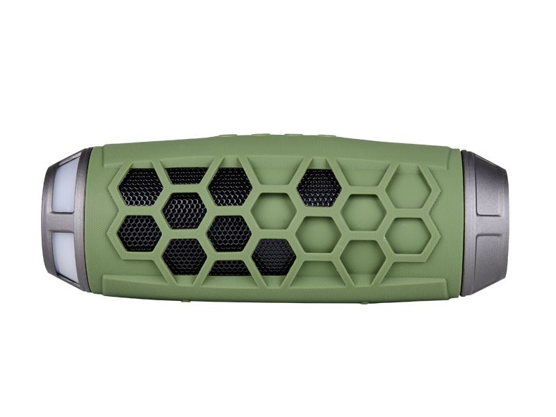 SONIQ Rock 7 Portable Bluetooth Speaker (Green) (ABTS200GR)