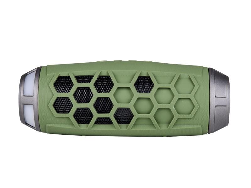 SONIQ Rock 7 Portable Bluetooth Speaker (Green) (ABTS200GR)