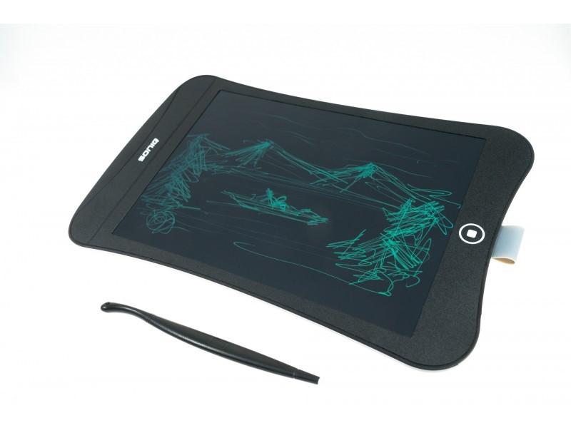 """SONIQ 9"""" Magnetic LCD Writing Tablet With Stylus (PT-900)"""