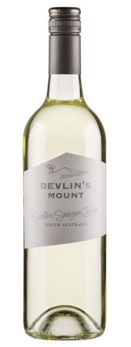 Devlins Mount Semillon Sauvignon Blanc 2018 (12 x 750mL) SA