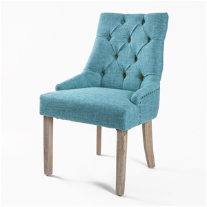 1X French Provincial Oak Leg Chair AMOUR