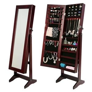 146cm Mirror Jewellery Cabinet LUVO - WA