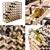 72 Bottle Timber Wine Rack