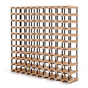 110 Bottle Timber Wine Rack
