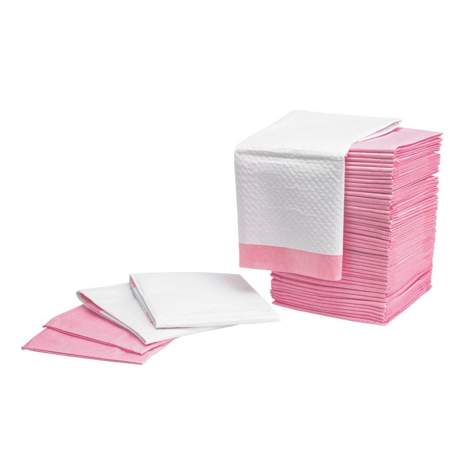 200PCS Pet Toilet Training Pads 7 Layered - PINK