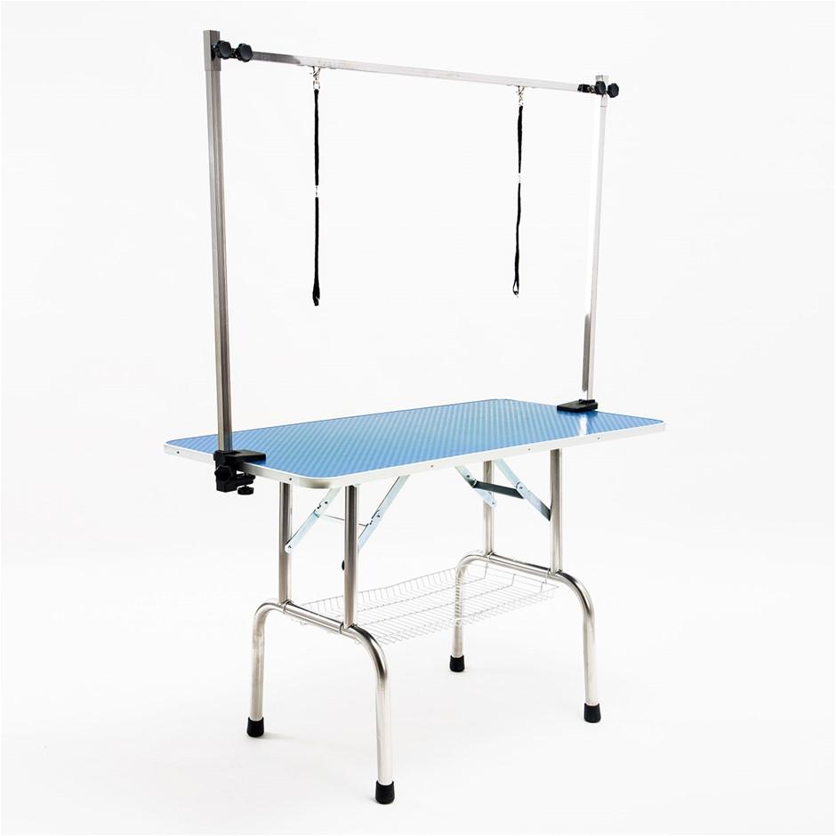 120cm Pet Grooming Table - BLUE
