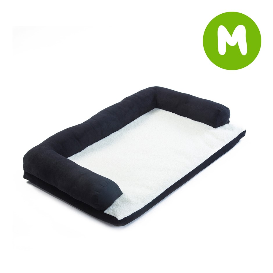 M 60 x 40 x 15cm Pet Couch TUFTY - BLACK