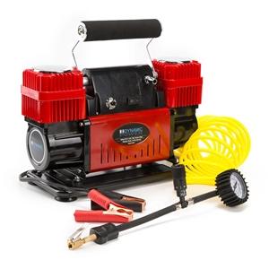 300L/MIN 12V Air Compressor - RED